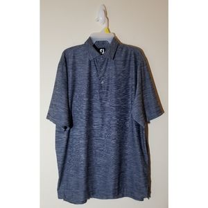 Footjoy Polo Button Up T-Shirt